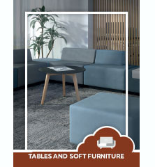 Tables and soft furniture