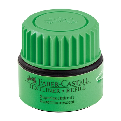 Picture of Faber-Castell Textliner automatic refill, 30 ml, green
