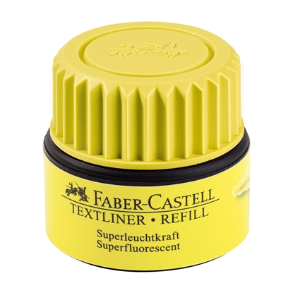 Picture of Faber-Castell Textliner automatic refill, 30 ml, yellow