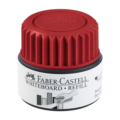 Picture of Faber-Castell Grip Whiteboard Permanent marker refill, 30 ml, red