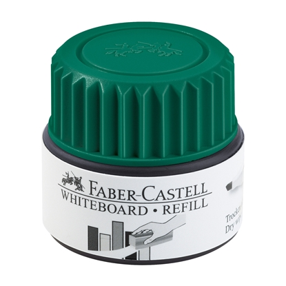 Picture of Faber-Castell Grip Whiteboard Permanent marker refill, 30 ml, green
