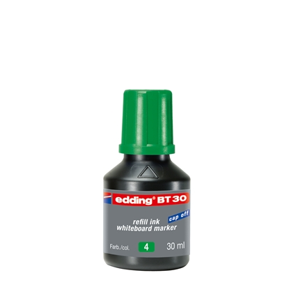 Picture of Edding Whiteboard marker refill ink BT30, 30 ml, green