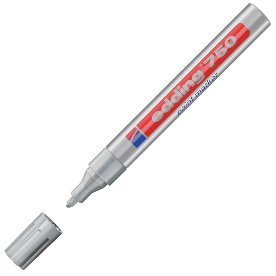 Picture of Edding 750 Permanent marker, silver