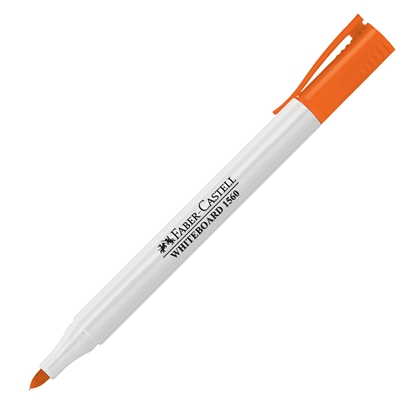 Picture of Faber-Castell Slim 1560 Whiteboard marker, orange