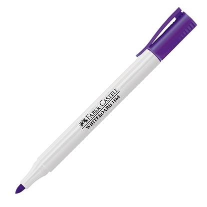 Picture of Faber-Castell Slim 1560 Whiteboard marker, violet