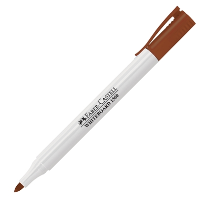 Picture of Faber-Castell Slim 1560 Whiteboard marker, brown