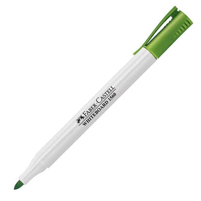 Picture of Faber-Castell Slim 1560 Whiteboard marker, light green