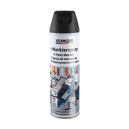 Picture of Stanger Longterm marker spray 500 ml black