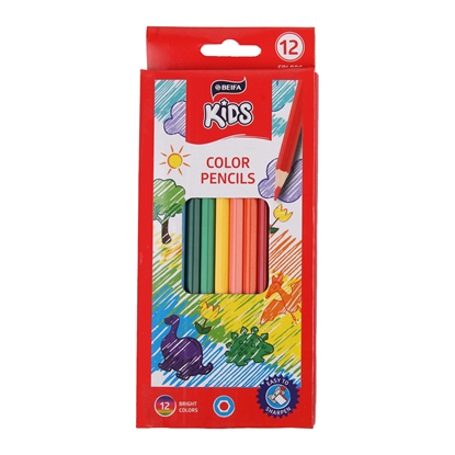 Picture of Beifa Colourful Pencils WMZ, 12 colours