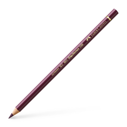 Picture of Faber-Castell Colourful pencil Polychromos, № 194, red purple