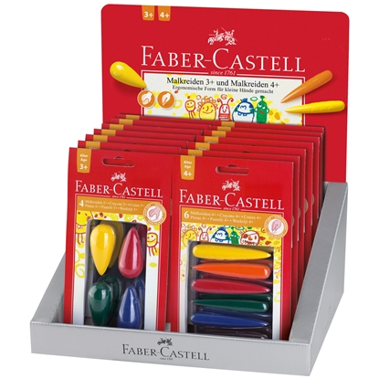 Picture of Faber-Castell pastel pear/finger display