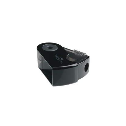 Picture of Faber-Castell Sharpener Sleeve, small, black