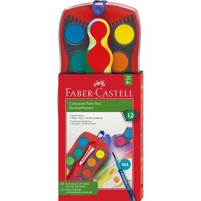 Picture of Faber-Castell watercolors Connector, 12 colors