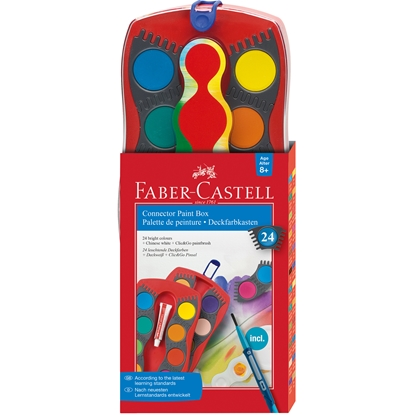 Picture of Faber-Castell watercolors Connector, 24 colors