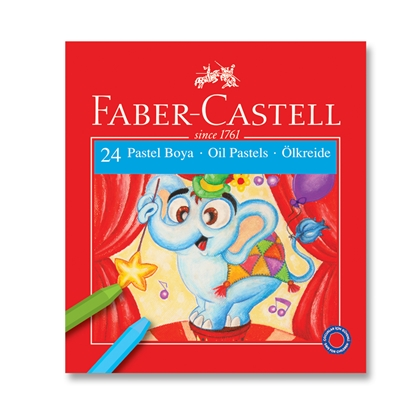 Picture of Faber-Castell oil pastels, 24 colors