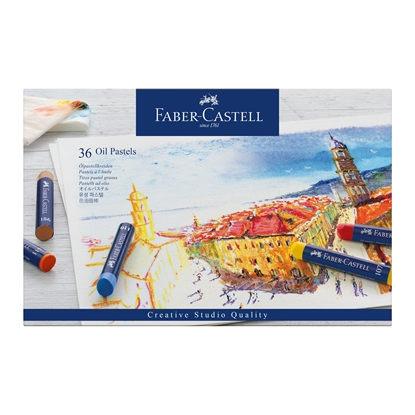 Picture of Faber-Castell oil pastels Goldfaber, 36 colors