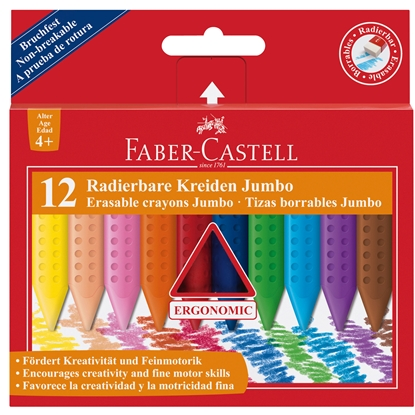 Picture of Faber-Castell pastels Jumbo Grip, 12 colors