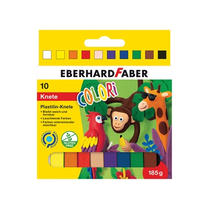 Picture of Eberhard Faber plasticine, 10 colors