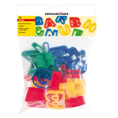 Picture of Eberhard Faber accessories for plasticine ABC