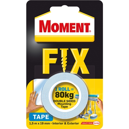 Picture of Henkel Moment  Double sided tape  19 mm x 1.5 m