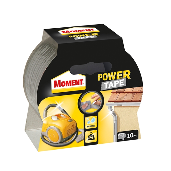 Picture of Henkel Moment Power tape 50 mm x 10 m, silver