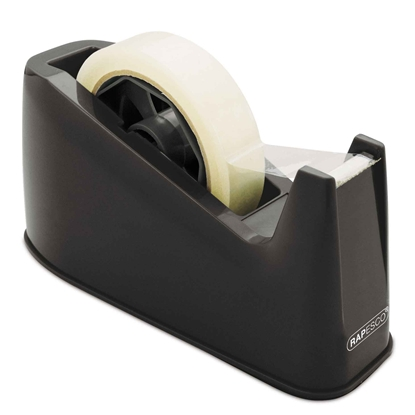 Picture of Rapesco Tape dispenser 500, 76 mm bobbin, black