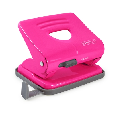 Picture of Rapesco 825 Punch for 25 sheets, hot pink