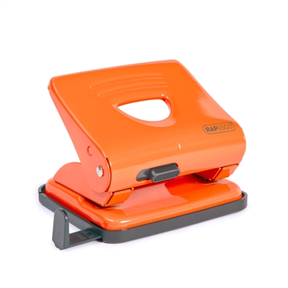 Picture of Rapesco 825 Punch for 25 sheets, orange
