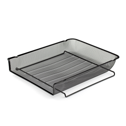 Picture of File Letter Tray Mesh metal, black