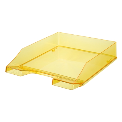 Picture of HAN Transparent Letter Tray, yellow