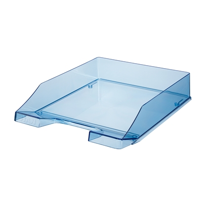 Picture of HAN Transparent Letter Tray, blue
