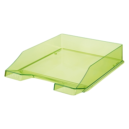 Picture of HAN Transparent Letter Tray, green