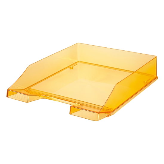 Picture of HAN Transparent Letter Tray, orange