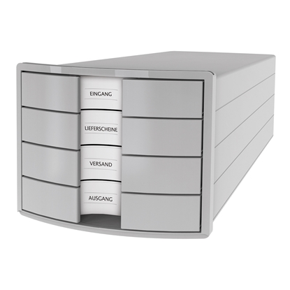 Picture of HAN Impuls Storage Box with 4 drawers, grey