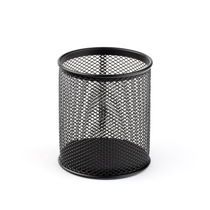 Picture of Pencil cup mesh, metal, black