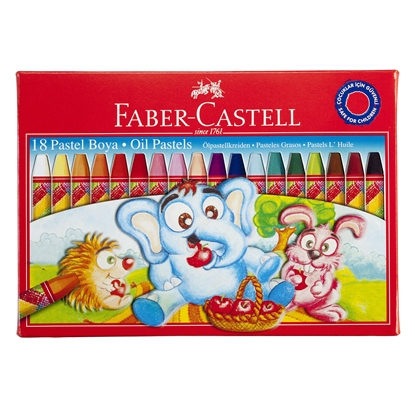 Picture of Faber-Castell oil pastels, 18 colors