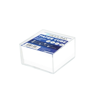 Picture of Fabriano Paper Cube + Plastic Stand, offset paper, 83 x 83 mm, 80 g/m2, 360 sheets, white
