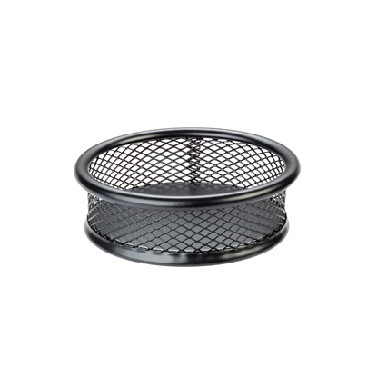 Picture of  Paper Clip Stand, mesh metal, round, black