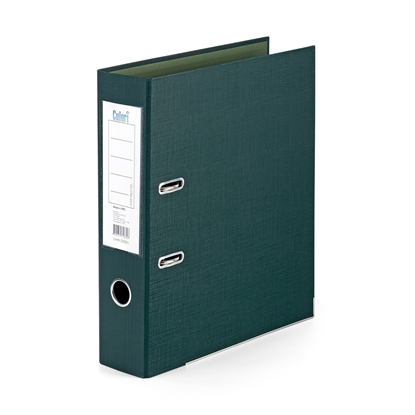 Picture of Colori PP Lever Arch File with metal strip, 8 cm, dark green