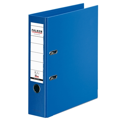 Picture of Falken Chromocolor PP Lever Arch File, 8 cm, blue