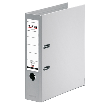 Picture of Falken Chromocolor PP Lever Arch File, 8 cm, grey