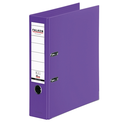 Picture of Falken Chromocolor PP Lever Arch File, 8 cm, purple