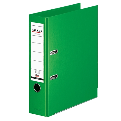 Picture of Falken Chromocolor PP Lever Arch File, 8 cm, light green