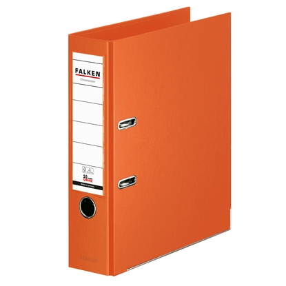 Picture of Falken Chromocolor PP Lever Arch File, 8 cm, orange