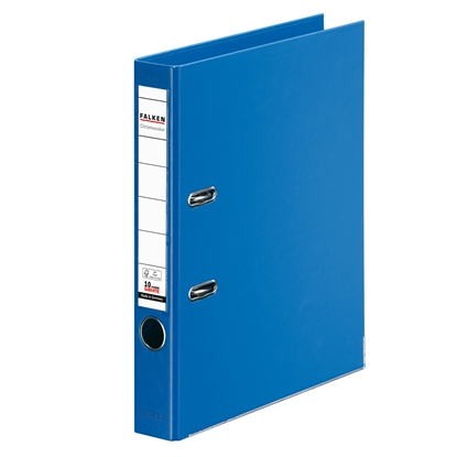 Picture of Falken Chromocolor PP Lever Arch File, 5 cm, blue