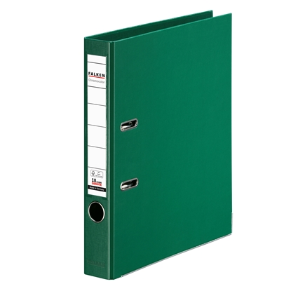 Picture of Falken Chromocolor PP Lever Arch File, 5 cm, green