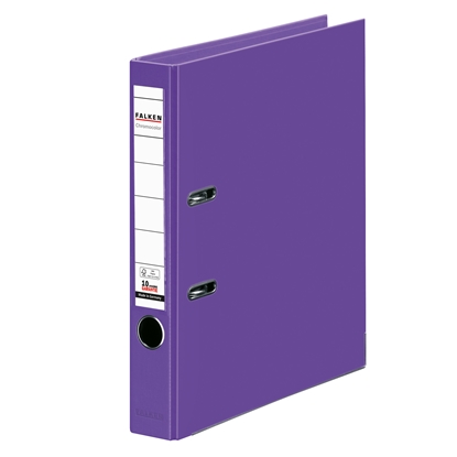 Picture of Falken Chromocolor PP Lever Arch File, 5 cm, purple