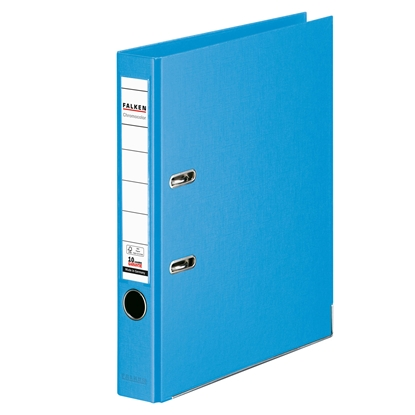 Picture of Falken Chromocolor PP Lever Arch File, 5 cm, light blue