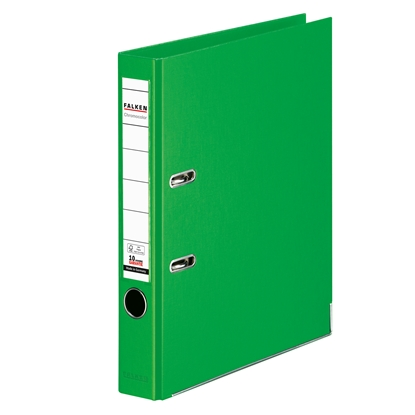 Picture of Falken Chromocolor PP Lever Arch File, 5 cm, light green