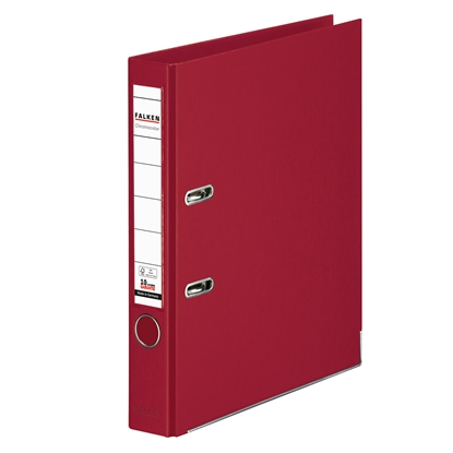 Picture of Falken Chromocolor PP Lever Arch File, 5 cm, bordeaux